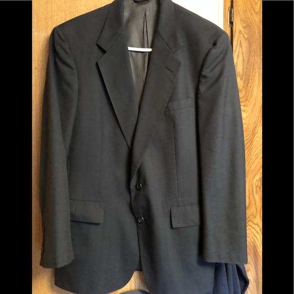 Austin Reed Suits Blazers Austin Reeddillards 42r Navy Suitcoatstripe Poshmark